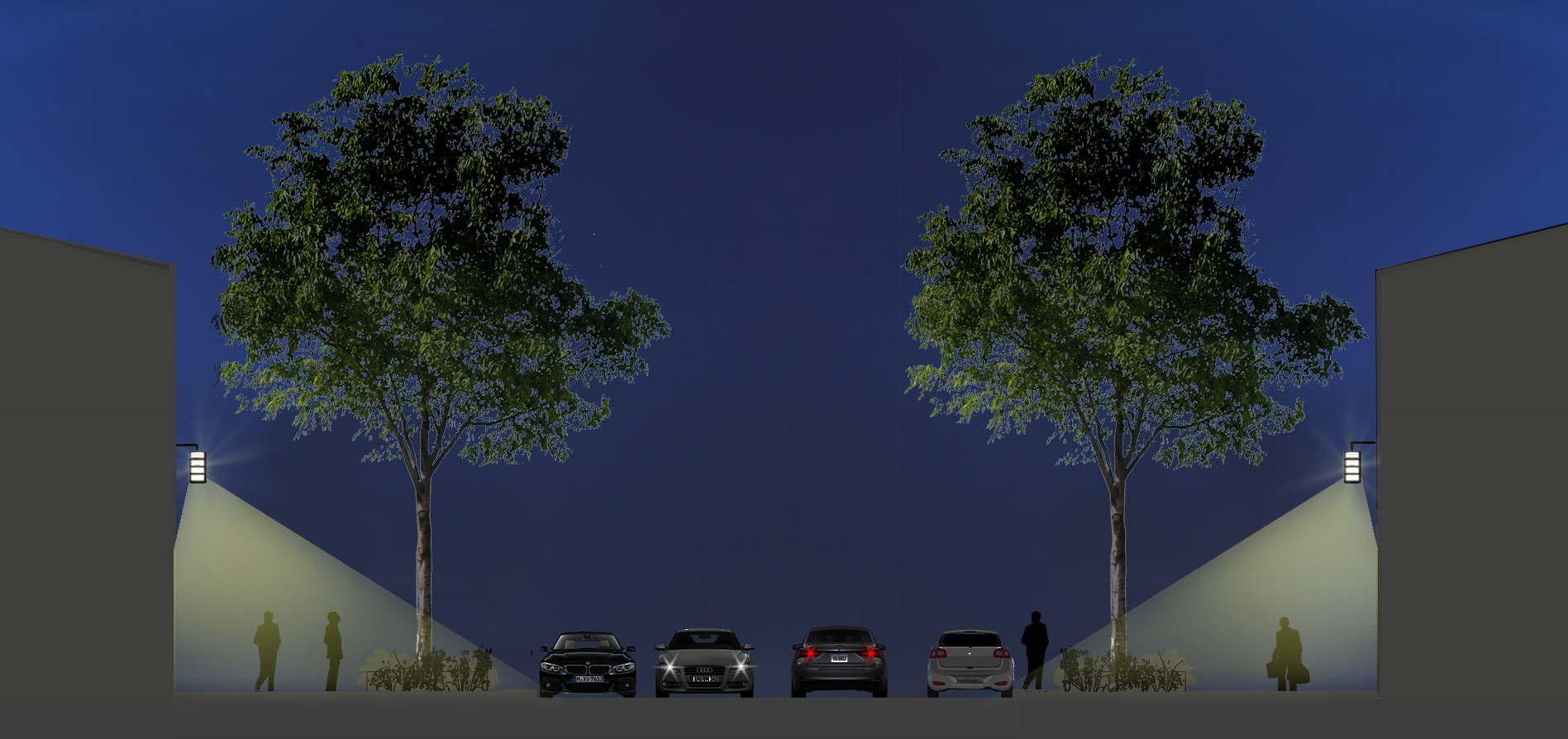 Participer à une meilleure perception diurne des espaces et du paysage environnant