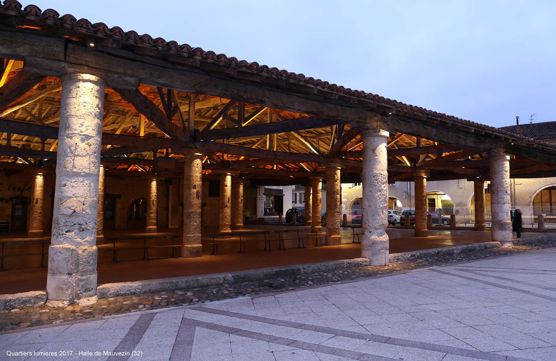 Halle de Mauvezin conception lumière