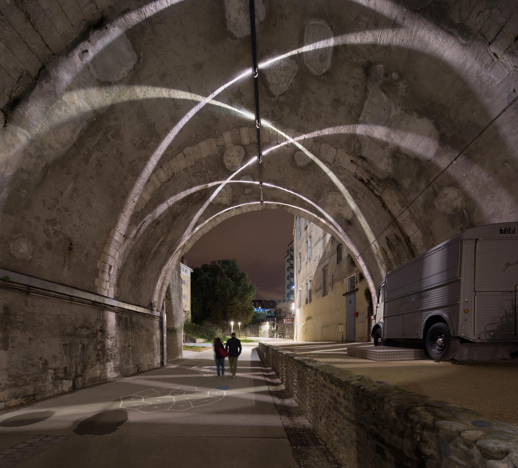pont hédas lames de lumière