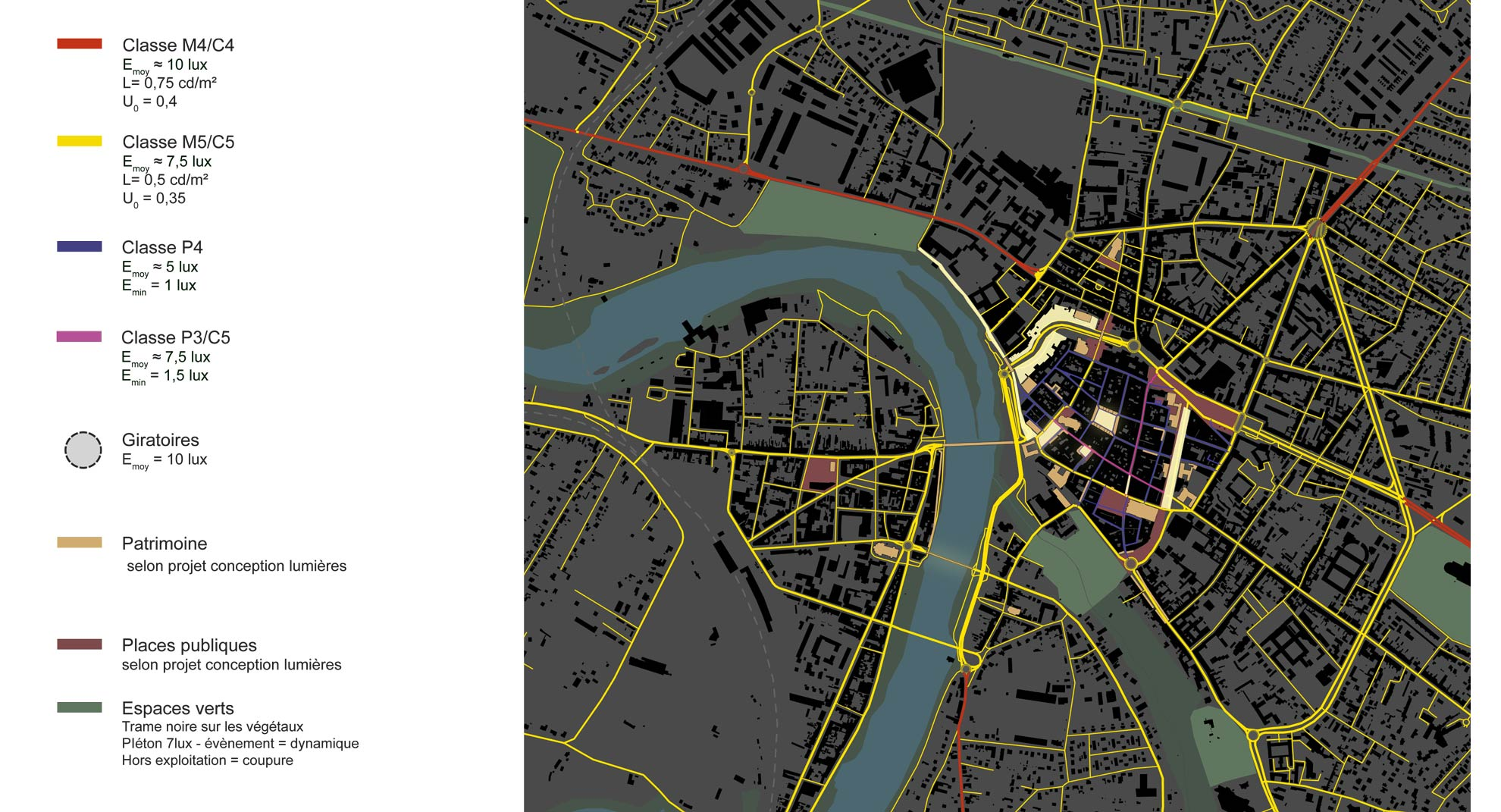 conception lumière pour le SDAL de Montauban