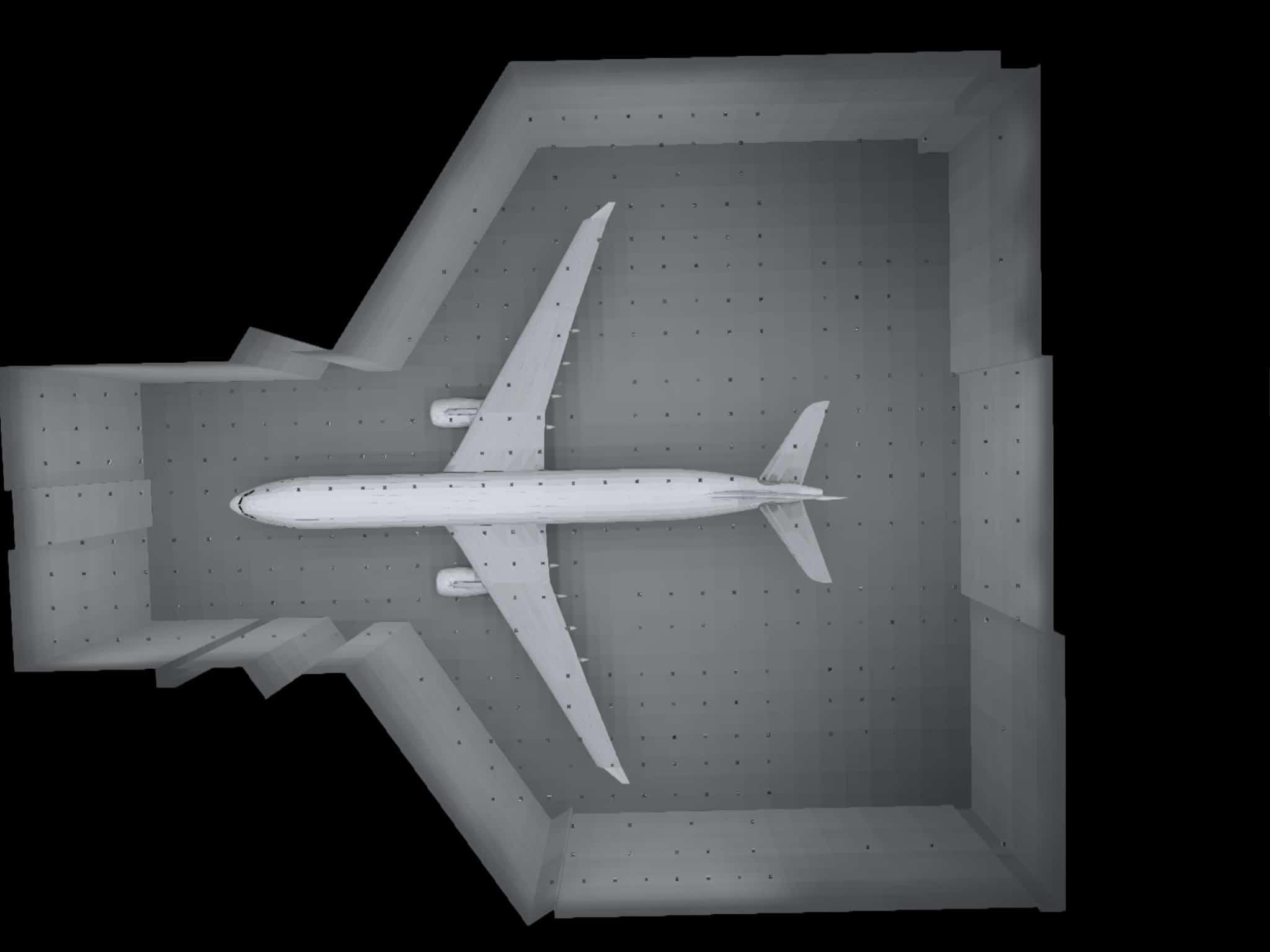 dialux et simulation photométrique d'un hall